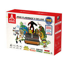Atari Flashback X Deluxe Retro Console 110 Built-in Games - New