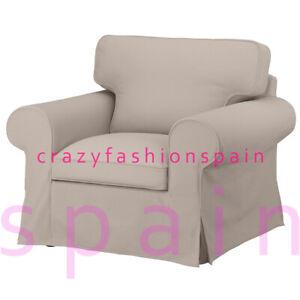 IKEA EKTORP Cover for armchair, Totebo light beige