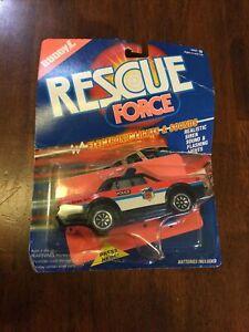 Vtg 1990 Buddy L Rescue Force Police Electronic Sounds & Lights Toy Rare NIP
