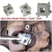 "Rear Disc Brake Caliper Piston Rewind/Wind Back Cube Tool 3/8"" Drive Tool!HGUK"