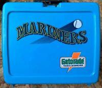 Seattle Mariners Vintage Gatorade Plastic Lunch Box