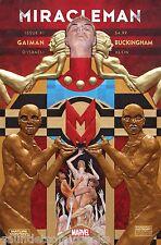 MIRACLEMAN #1 by Neil Gaiman and Buckingham 2015 Marvel Comic Books