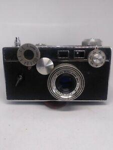 Vintage Argus C3 #5 w/lens cover & case