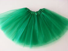 Women Adult Teen Organza Dance Tutu Ballet Pettiskirt Party Skirt