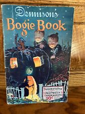 Dennison's Bogie Book 1925 Halloween & Thanksgiving Decorations/Cats/Witches+
