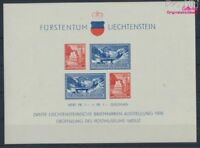 Liechtenstein Block2 postfrisch 1936 Briefmarkenausstellung (8516867