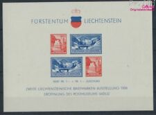 Liechtenstein Bloque 2 nuevo 1936 exposicion de sellos (8516867