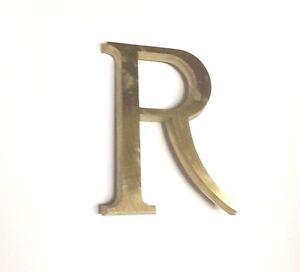 Italian Metal Letters 5 Inch (G. Curi/Bosisio Foundries) Times New Roman & Deco