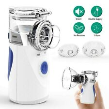 Portable Rechargeable Ultrasonic Nebulizer Inhaler Mesh Handheld Respirator 2020