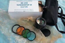 MC APO Telezenitar 135mm F/2.8 lens for M42 mount! RARE!!