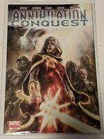 Annihilation Conquest #1 January 2008 Marvel Comics Abnett Lanning Raney Hanna