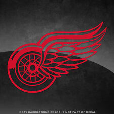 """Detroit Red Wings NHL Vinyl Decal Sticker - 4"""" and Larger - 30+ Color Options!"""