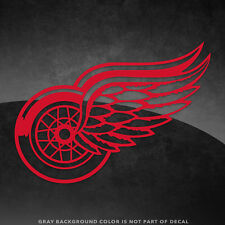 "Detroit Red Wings NHL Vinyl Decal Sticker - 4"" and Larger - 30+ Color Options!"