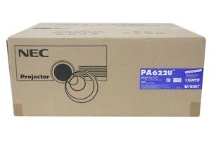 NEC PROFESSIONAL 3LCD WUXGA 6200 LUMEN 1080P PROJECTOR NP-PA622U