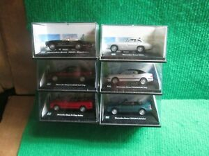 6 X CARARAMA MERCEDES-BENZ (1:72 SCALE) LOT G8