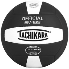 Tachikara Institutional Quality Composite Leather Volleyball, Royal-White SV-18S