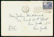 Mayfairstamps South Africa 1949 Embassy US Cape Town Trees Large House Cover wwf