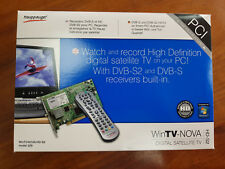 Happauge! WinTV-Nova-HD-S2 Model 229 Digital Satellite TV Tuner PCI Card