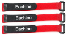 3x Red 26cm RC Battery Strap - LiPo Battery - Perfect for Drones Rc Cars