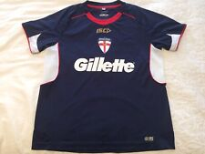 England ISC Gillette Ladies Shirt Size 14 - 36 Inch Chest Rugby League Jersey