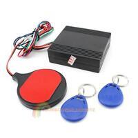 Car RFID Alarm Push Button Start Transponder Immobilizer Keyless Entry System