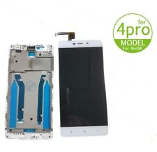 TOUCH SCREEN VETRO + LCD DISPLAY ASSEMBLATI Per XIAOMI REDMI 4 PRO bianco frame