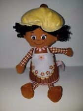 """Little Miss Muffin Toy Plush Soft Doll 9"""" Cup Cake Cupcake Chocolate Girl 2011"""