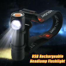 Multifunction Mini CREE Q5 LED 1000LM USB Rechargeable Headlamp Flashlight