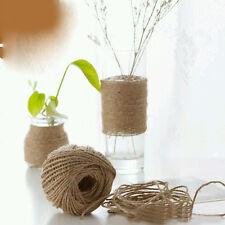 30M 2mm Natural Jute Hemp Linen Twine Cord String Hemp Rope DIY Craft DIY Making