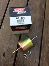 Baldwin BF1166 Fuel Filter In Line Lot Of 2 Pack Free Shipping
