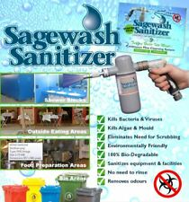 Sagewash Professional Spray Cleaning System Multi Surfaces Cost Effective