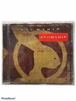 New! Atomship Crash of 47 2004 Alt Progressive Metal CD Promo Cutout ~ Sealed