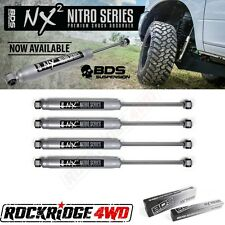 """BDS NX2 Series Shock Absorbers 94-01 DODGE RAM 1/2 TON w/ 5"""" of Lift Set of 4 4x"""