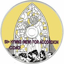 50+ HYMNS (NEW) FOR ACCORDION SHEET MUSIC - CD#2 of 3