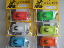 New 6 Pack Wizzard Storm Extreme made in USA Slot Car Sale ~ Fluorescent Colors