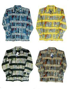 Fubu Platinum Fat Albert Long sleeve Shirts, 4colors, XL~3XL