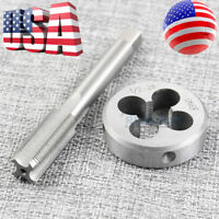 "1/2""-28 Gunsmithing Tap and Die Set High Quality (1/2"" x 28) 22LR 223 5.56 9mm"