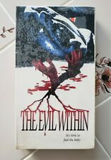 The Evil Within 1994 Screener VHS Dimension Films Horror