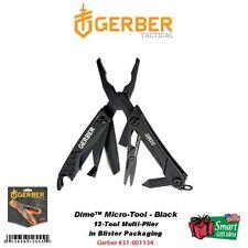 Gerber Dime, Black Keychain Multi-Tool Pliers, Bottle Opener #31-001134