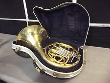 Unbranded French Horn~No Mouth Piece~Tested By Baritone Player~Plays Good~S2874