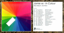 JAMIE XX In Colour Ltd Ed New RARE Sticker +FREE Dance/EDM/Pop Stickers!