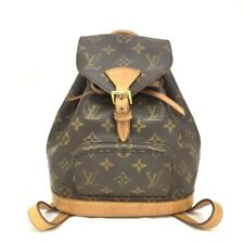 100% Authentic Louis Vuitton Monogram Mini Montsouris Backpack /40188