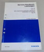 Workshop Manual Volvo Lorry Fm / Fh Elrktronische Air Suspension (Esc) By 1998