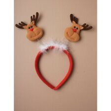 NUOVO Raindeer Deeley Bopper su Red Aliceband Costume Natale Celebrazioni