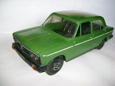 Rare plastic model VAZ 2103-2106 LADA Zhiguli remake Fiat 124 (USSR Syzran 1/10)