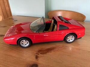 Vintage 1986 Mattel Barbie Red Ferrari 328 GTS Convertible Sports Car
