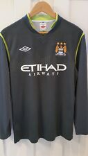 Manchester City 2011-12 Long Sleeve Goalkeeper Jersey by Umbro