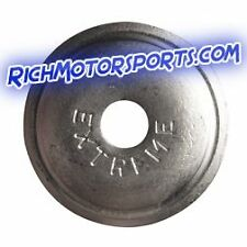 New 144 Qty. Extreme Max Round Aluminum Snowmobile Stud Backer ( FREE SHIPPING )