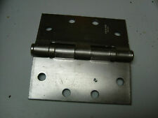 3 - new Stanley Ball bearing heavy duty commercial hinges satin chrome