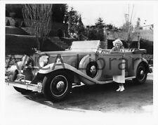 1932 Packard Phaeton w/ Jean Harlow, Factory Photo (Ref. #61721)